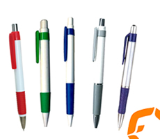Pens in various colours and sizes